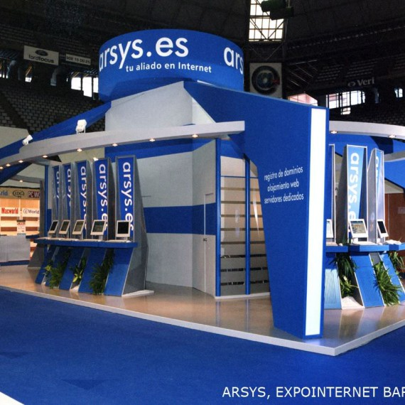 ARSYS Stand Design 2011-2013