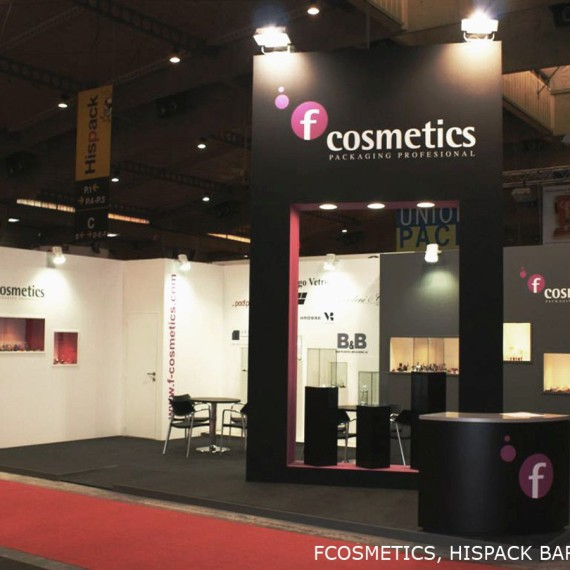 FCOSMETICS Stand Design 2011-2013