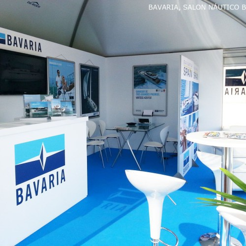 BAVARIA Stand Construction 2014