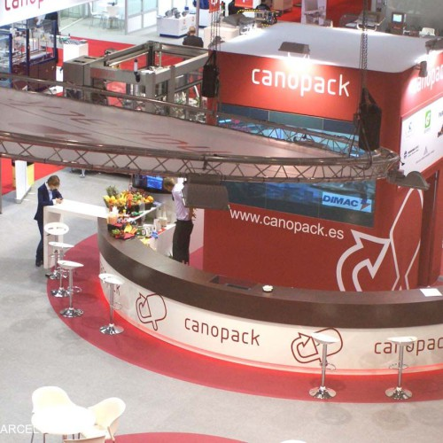 CANOPACK Stand Design 2011-2013