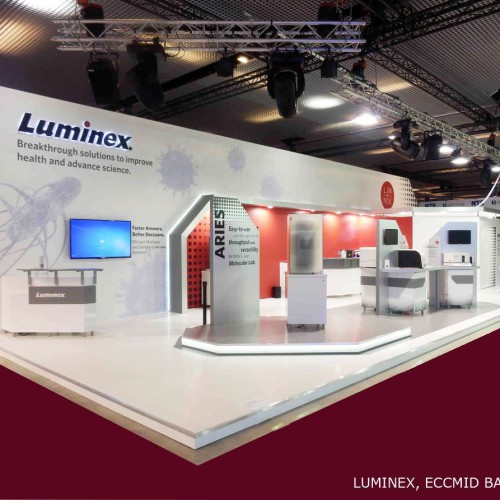 LUMINEX Stand Construction 2014