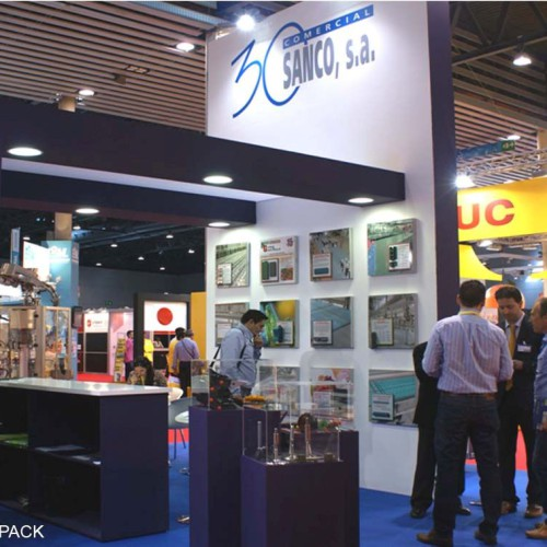COMERCIAL SANCO Stand Design 2012